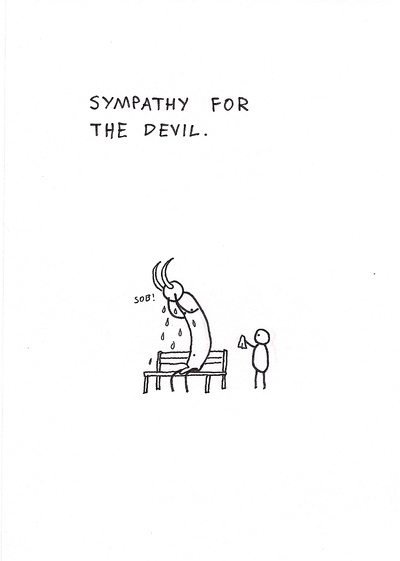dagsson - sympathy for the devil
