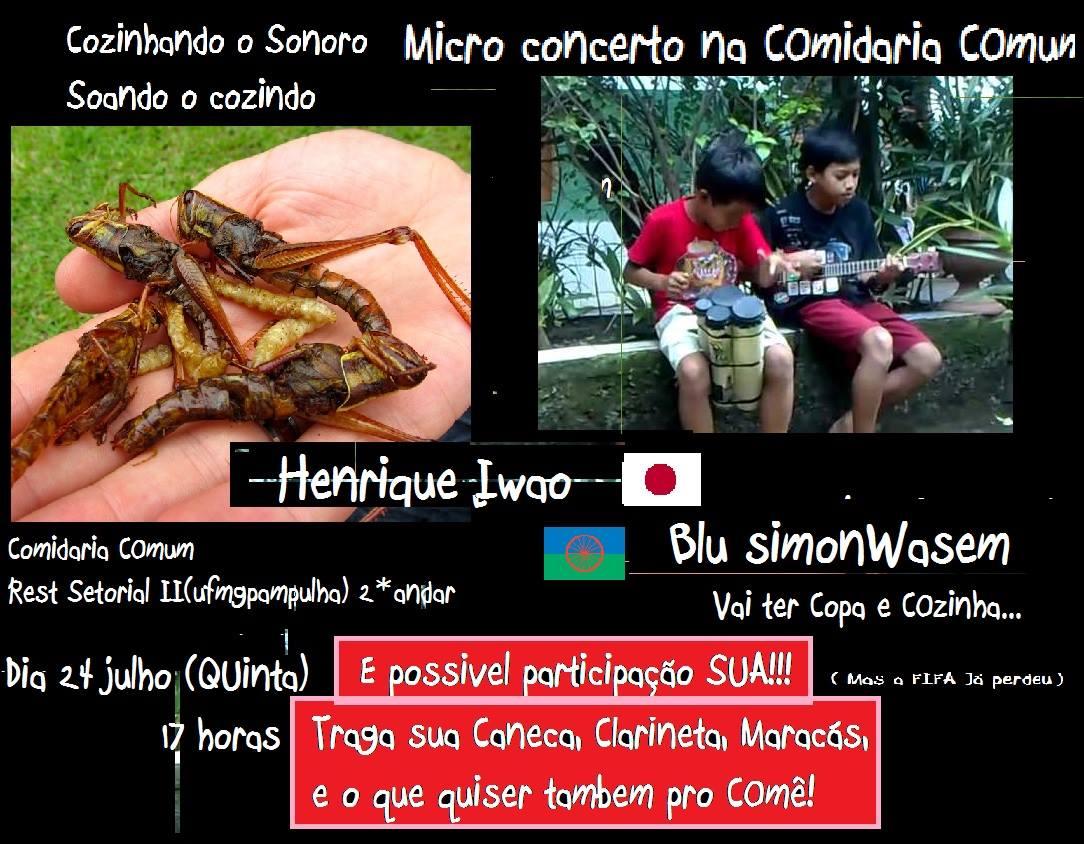 2014-07-24 henrique iwao e blu simon wasem - cartaz